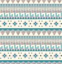 Seamless tribal pattern in pastel tints